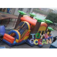 China Colorful Inflatable Bouncer Combo / Playground Obstacle Course Games For Kids wholesale