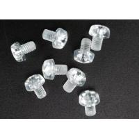 China Clear Plastic Phillips Round Head Metric Micro Screws For Electronics M3 X 5 wholesale