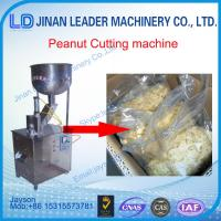 Buy cheap Manufacture peanut cutting machine, almond cashew slicing mincing automatic from wholesalers