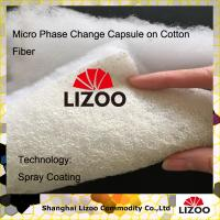 China Cooling pillow with PCM phase change material spray coating lining wholesale