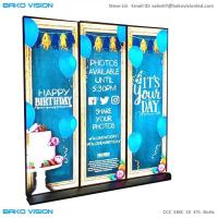 China 3960Hz P2.5 Indoor LED Poster Covenient Sign , Advertising Video Wall High Brightness wholesale