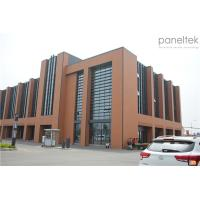 China Wall Cladding Material Terracotta Cladding Facade Panels Long Last Color wholesale