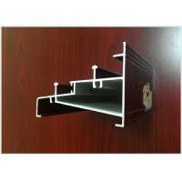 China Sliding Door Wood Finish Aluminium Profiles 99.6% Corrosion Resistance wholesale