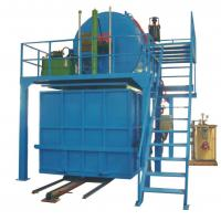 China Automatic Recycled Foam Production Line With Steam Mix Crushed Foam With Glue wholesale