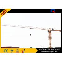 China 1.3t Tip Load Building Construction Machine , Flat Top Tower 40m Free Standing Height wholesale