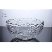 China best quality glass fruit plate, glass container use in home & hotel wholesale