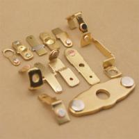 Buy cheap Sheet Contact Metal Connector / Stamping Components For Mini Circuit Breaker from wholesalers