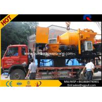 China 37kw Motor Power Concrete Mixer Pump Truck Oil Tank 300L weight 12600kg wholesale