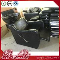 Quality 2018 barber shop equipment and supplies hairdressing basins and chair shampoo for sale