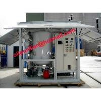 China Transformer Oil Purifier,Insulation Oil Regeneration System,Waste Oil Refinery with Germany Leybold Vacuum on sale