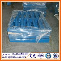 China 4 way entried 1000kg load C type Steel Panel Pallet (1067*1067*165mm) wholesale