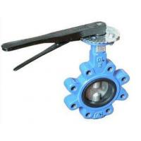 China DN 100 PN 16 water butterfly valves SS Body By Lever Operated And Seat is EPDM wholesale