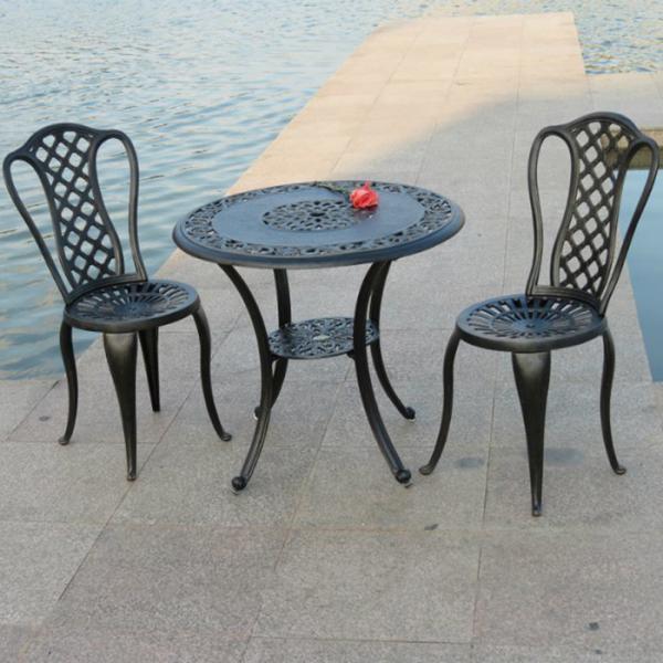 china manufacturer cast aluminum outdoor furniture new