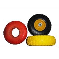 """China Low Temperature Resistance 7.5x2"""" PU Foam Wheels For Wheelchair wholesale"""