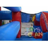 Quality Insane Team Running Inflatable Tunnel Obstacle Course Rental With Crawling Tubes for sale