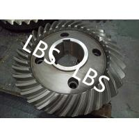 Buy cheap Steel Spiral Bevel Double Helical Gear Shaft Polishing Anodic Oxidation from wholesalers