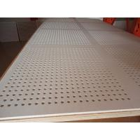 China PERFORATED GYPSUM BOARD 1200X2400mm wholesale
