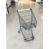 40 Liter Steel Tube Grocery Store Shopping Cart For Airport Supermarket