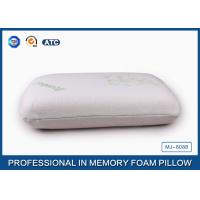 China Softest Travel Size Classic Memory Foam Pillow Neck Support With High Density on sale
