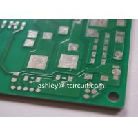 China Aluminum Based Heavy Copper Printed Circuit Board Green Solder Hight Thermal Conductivity wholesale
