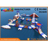 China Custom Giant PVC Tarpaulin Inflatable Floating Water Park High Durability on sale