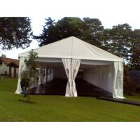 China 300 People Strong Wedding Tent White Roof Linings Party Marquee Tent wholesale