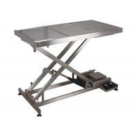 China SUS 304 Veterinary Surgery Table For Pets , Electrical Veterinary Lift Table wholesale