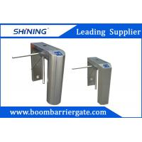 China Uni-Direction / Bi-Direction Electrical Tripod Turnstile Gate With Card Reader wholesale