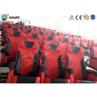 China Electric Motion 4DM Cinema System Movie Theater System With Black Red Seats wholesale