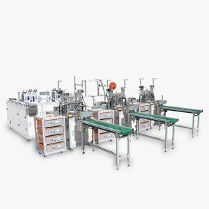 China 120pcs/Min Ultrasonic Spot Welding Face Mask Machine wholesale
