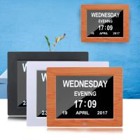 China American Lifetime Day Clock - Extra Large Impaired Vision Digital Clock & 5 Alarm Options Digital Day Clock wholesale