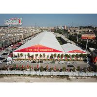 China High 12000 sqm Industrial Storage exhibition Tents Aluminum Frame With PVC fabric Wall wholesale