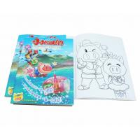 Buy cheap A4 Size Coloring Books For Kids Clothing Business Developement , Toddler from wholesalers