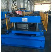 China Sheet Length 2000 - 6000mm Punching Press PLC Cable Tray Machine Gear Box Driven wholesale
