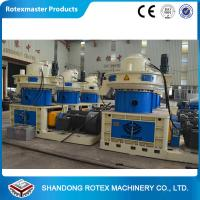 China ROTEXMASTER Vertical Ring Die Wood Sawdust Fuel Pellet production line wholesale