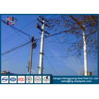 China Anti - Rust Tubular Electric Steel Pole For Transmission Line Pole wholesale