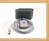 China Edan F3 Fetal Monitor Transducer US Probe 4 Pin Connector 40 Degree 2m Length wholesale