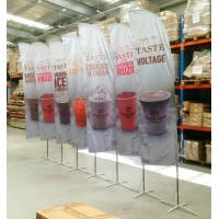 China Full Printed Polyester Beach Flag Banner , Flying Banners And Flags Outdoors & Accessories wholesale