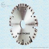 China Diamond Turbo Tuck Point Cutting Blade for Granite and Concrete Engroove - TPCB02 wholesale