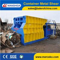China Customized Automatic Container Scrap Shear box shear for propane tank gas tank manufacture price wholesale