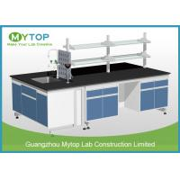 Buy cheap Scratch Resistance University Laboratory Benches And Cabinets , Science Lab Benches from wholesalers