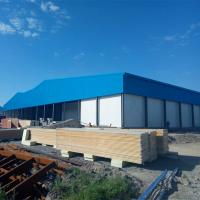Buy cheap Galvanized Metal Building Warehouse Steel Factory Construction from wholesalers
