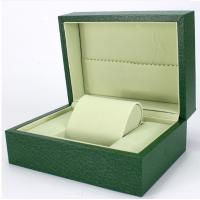 China Green Paper Watch Box / Jewelry Wooden Box Packaging Eco-friendly wholesale