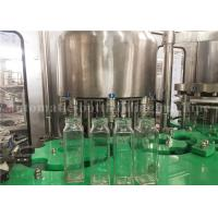 Buy cheap Small Glass Bottle Filling Machine For Fruit Pulp Juice / Flavored Water / from wholesalers