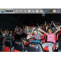 China Park Circular , 4D Cinema System Of X-Max Screen For Indoor wholesale