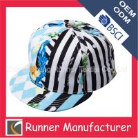 Quality Custom Hawaii Floral Printing Snapback Cap Hat for sale