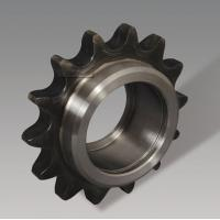 China Stainless Steelball Bearing Idler Sprocket , Precise Metric Roller Chain Sprockets wholesale