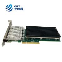 Buy cheap IEEE member Programmable NIC FPGA Card Fibre Optic 10Gbps Network Adapter from wholesalers