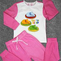 China Cute Newborn Baby Clothes Set Printed Cotton Toddler Boys Clothing wholesale