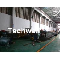 China GI , Carbon Steel Top Hat Purlin Cold Roll Forming Machine With Manual / Hydraulic Uncoiler wholesale